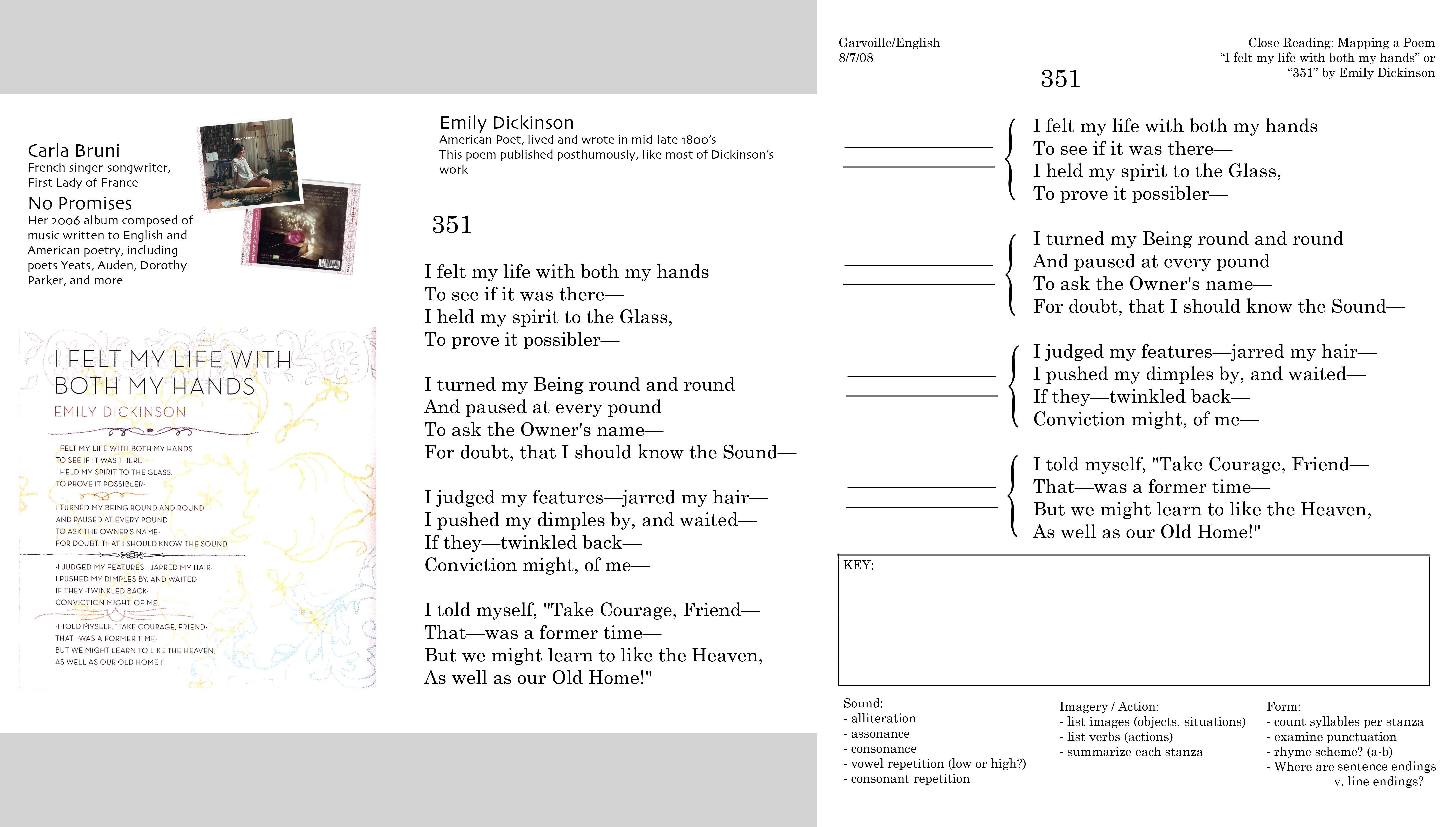 Worksheets Rhyme Scheme Worksheet poetry through song ms garvoilles english i
